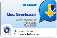 5 stars and 'most downloaded' rating on Software Informer